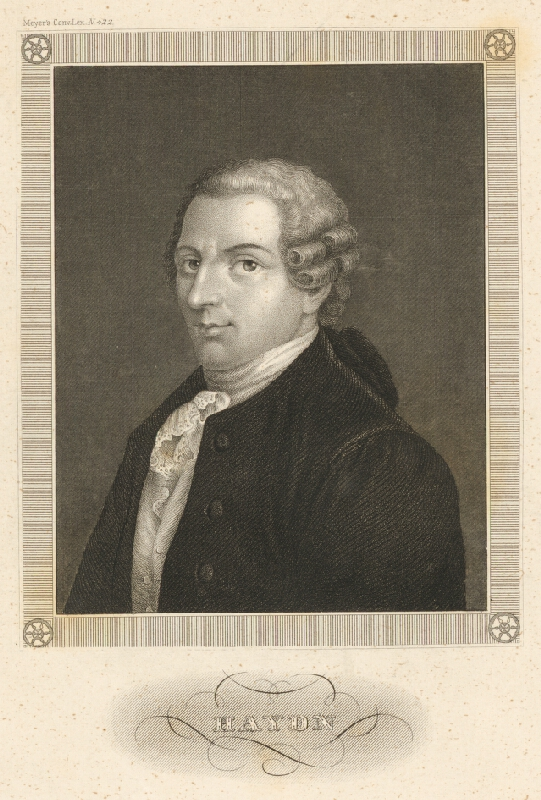Stredoeurópsky maliar z 19. storočia - Portrét Haydna
