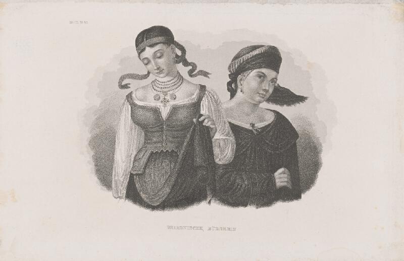 Stredoeurópsky maliar z 19. storočia - Ženy vo Vorone