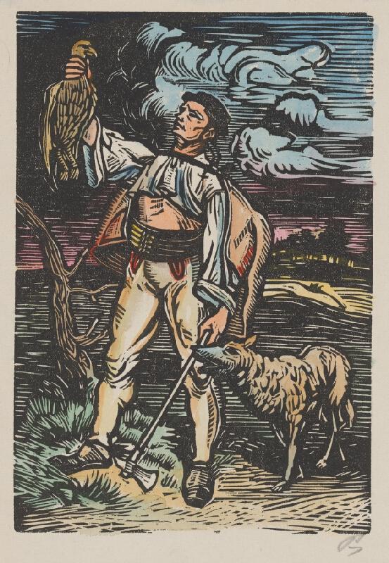 Slovenský maliar z 1. polovice 20. storočia - Lovec