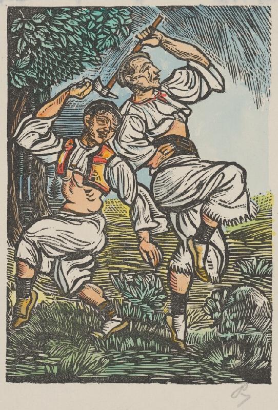Slovenský maliar z 1. polovice 20. storočia - Tanec