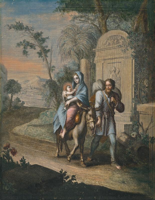 Caspar Luyken, Christoph Weigel st. - Útek do Egypta