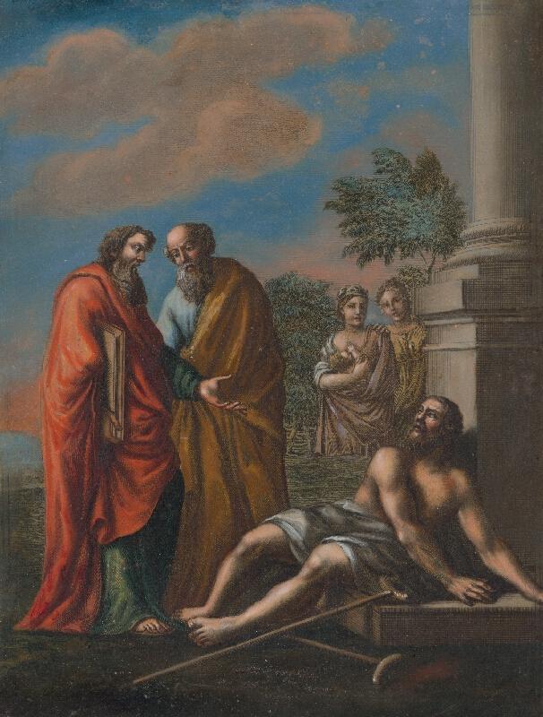 Francesco Antonio Meloni - Pavol uzdravuje chromého