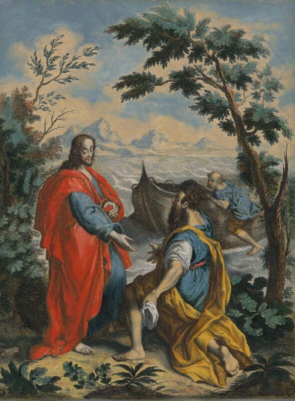 Federico Barocci - Povolanie svätého Petra a svätého Andreja