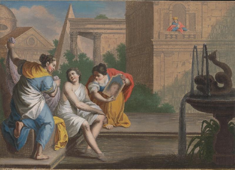 Francesco Moard, Thomas Major - Dávid a Betsabe