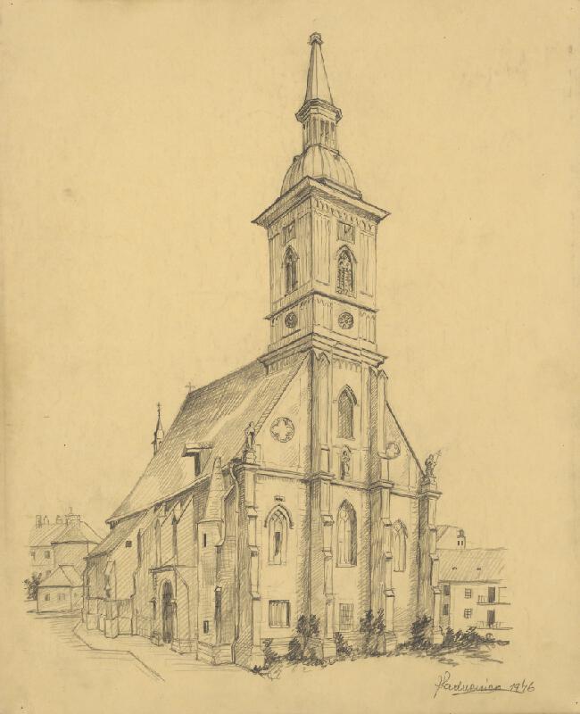 Ján Ladvenica - Dóm svätého Martina v Bratislave