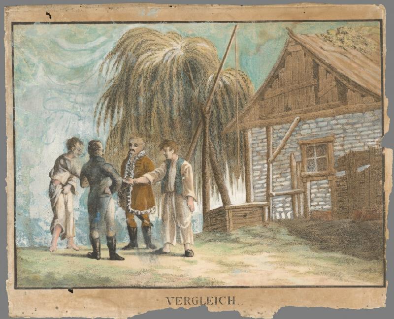 Stredoeurópsky maliar z 1. polovice 19. storočia - Páni a sedliaci