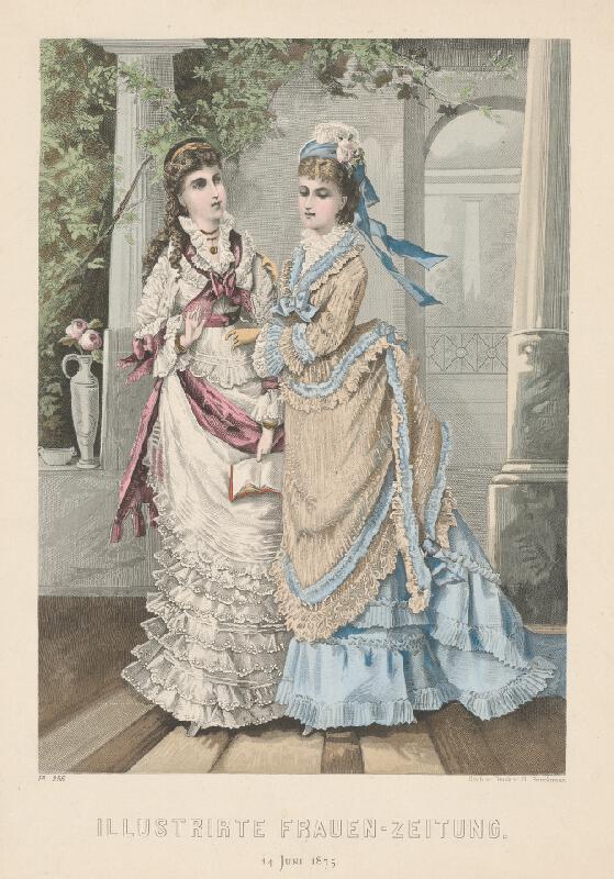 G. Brinckmann - Dve dámy - módny list