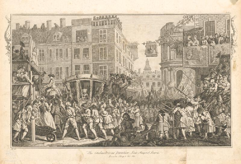 William Hogarth - Usilovný učeň londýnskym starostom