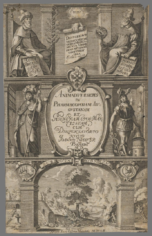Mauritius Lang, Elias Gedeler – Titulný list
