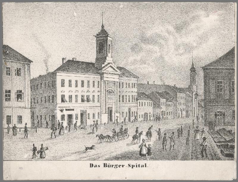Antal József Strohmayer, Johann Höfelich, C.F. Wigand - Meštianska nemocnica v Bratislave
