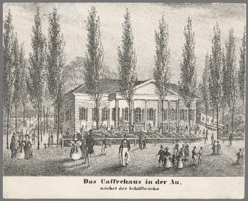 Antal József Strohmayer, Johann Höfelich, C.F. Wigand - Kaviareň Au v Petržalke