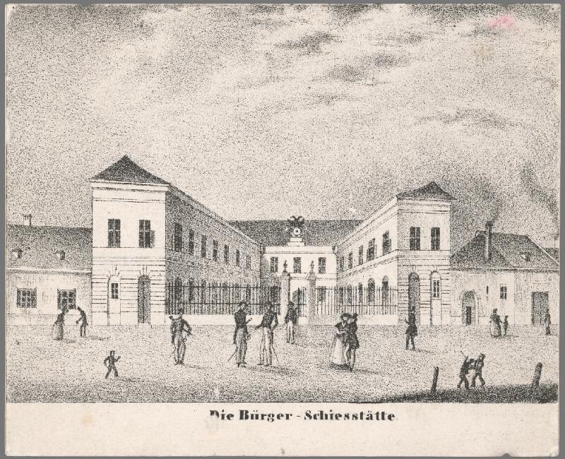 Antal József Strohmayer, Johann Höfelich, C.F. Wigand - Meštianska strelnica v Bratislave