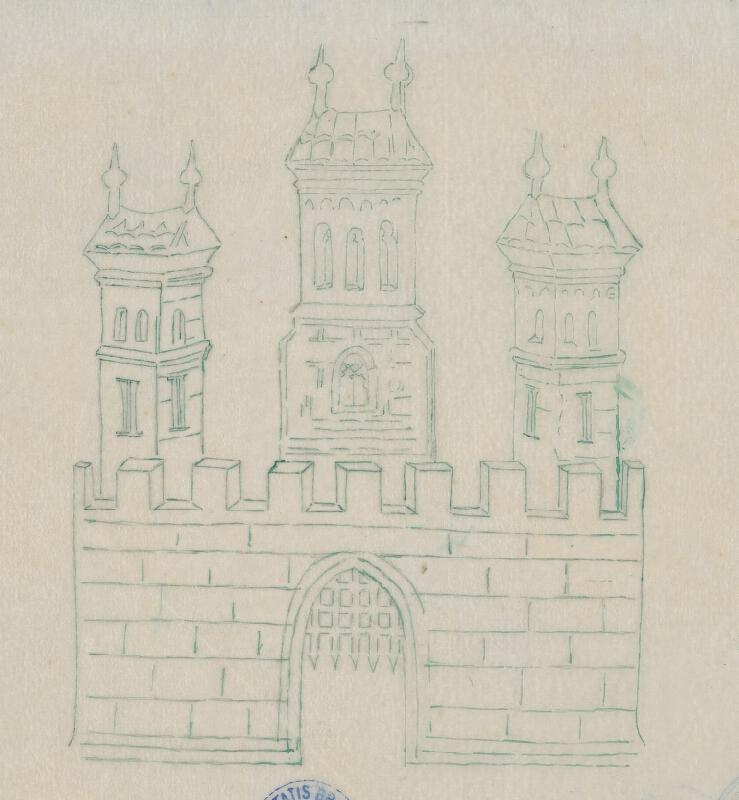Stredoeurópsky kresliar z 2. polovice 19. storočia - Erb mesta Bratislavy