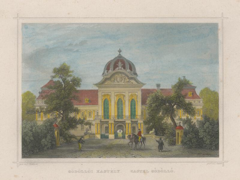 Ludwig Rohbock - Kaštieľ Godollo