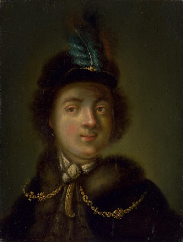 Chr. Dietericyová, Christian Wilhelm Ernst Dietrich - Podobizeň mladého muža