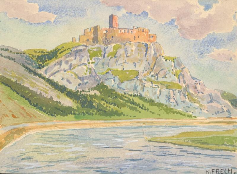 Karol Frech - Trenčiansky hrad