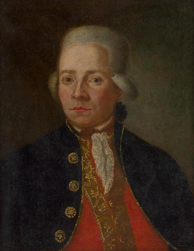 Stredoeurópsky maliar z konca 18. storočia - Portrét muža v parochni