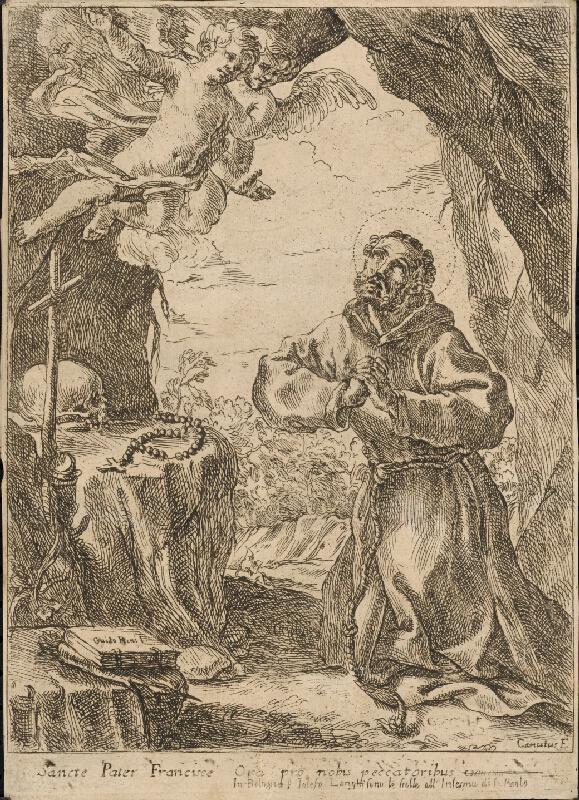 Guido Reni, Domenico Maria Canuti - Svätý František z Assisi