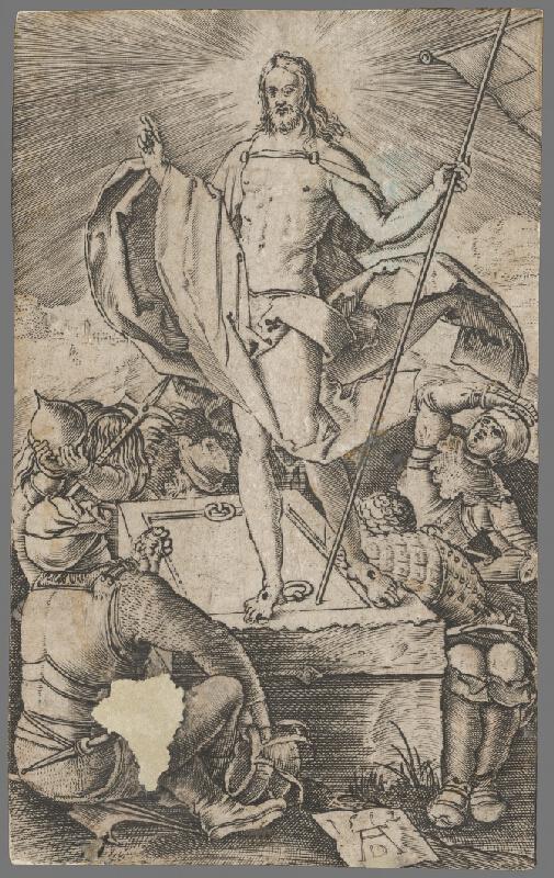 Albrecht Dürer - Zmŕtvychvstanie Krista
