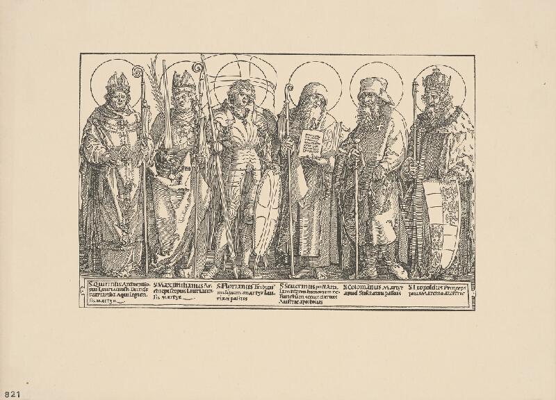 Albrecht Dürer - Skupina svätcov - Svätí patróni Rakúska