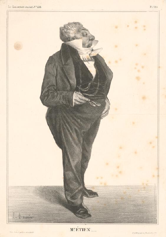 Honoré Daumier - Pán Etien