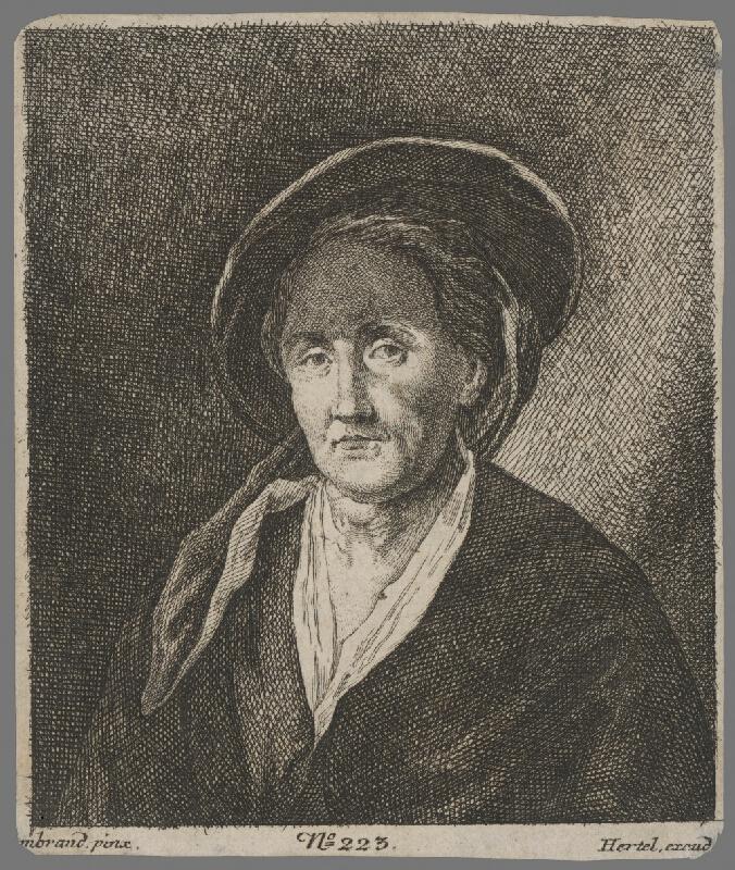 Rembrandt van Rijn - Podobizeň ženy