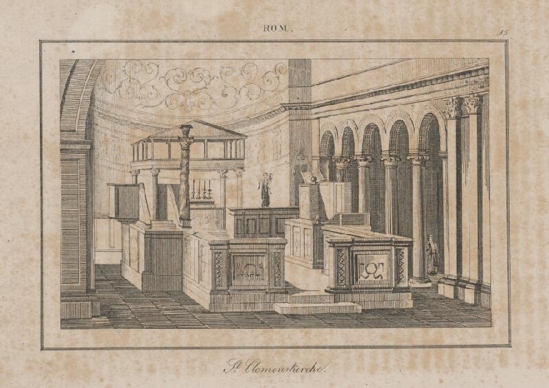 Taliansky autor z 2. polovice 19. storočia - Bazilika sv. Klementa v Ríme