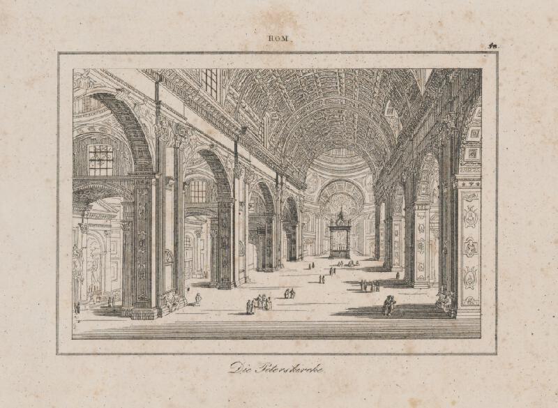 Taliansky autor z 2. polovice 19. storočia - Chrám sv. Petra v Ríme