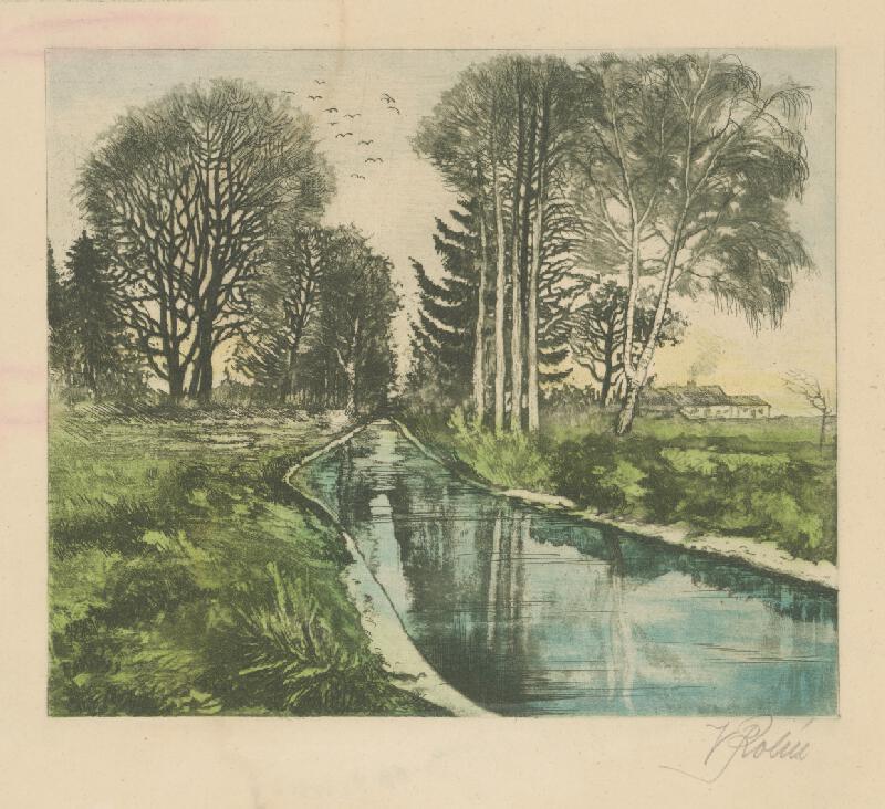 Wilhelm Rohr - Krajina s riekou