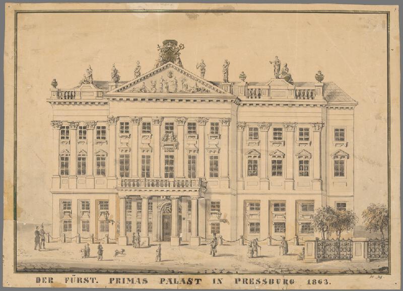 Johann Nepomuk Meyer - Primaciálny palác