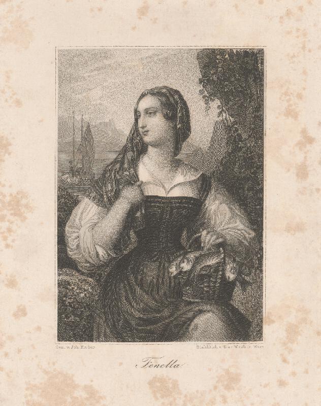 David Weiss, Johann Nepomuk Ender - Portrét ženy
