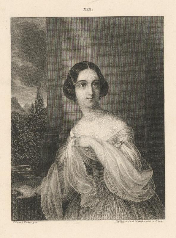 Carl Mahlknecht, Eduard Ender - Portrét ženy