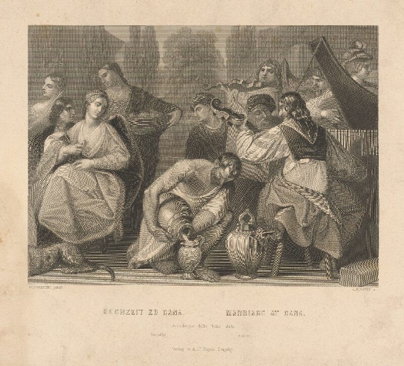Albert Henry Payne, Chiara Padovanino-Varotari - Svadba v Káne Galilejskej