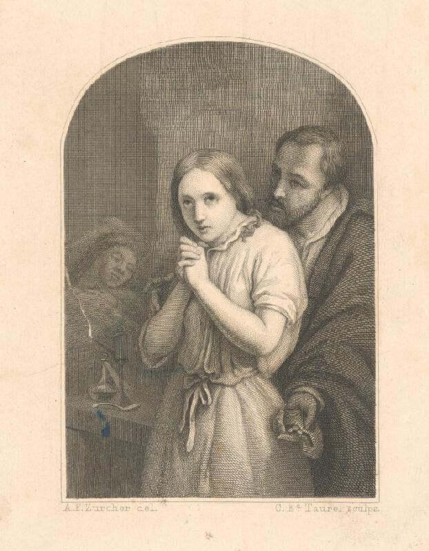 Charles Eduard Taurel, Anton Frederik Zürcher - Chorá matka