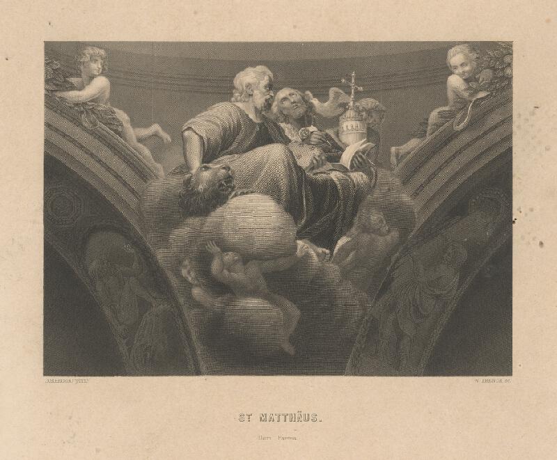 William French, Antonio Allegri Correggio - Svätý Matúš