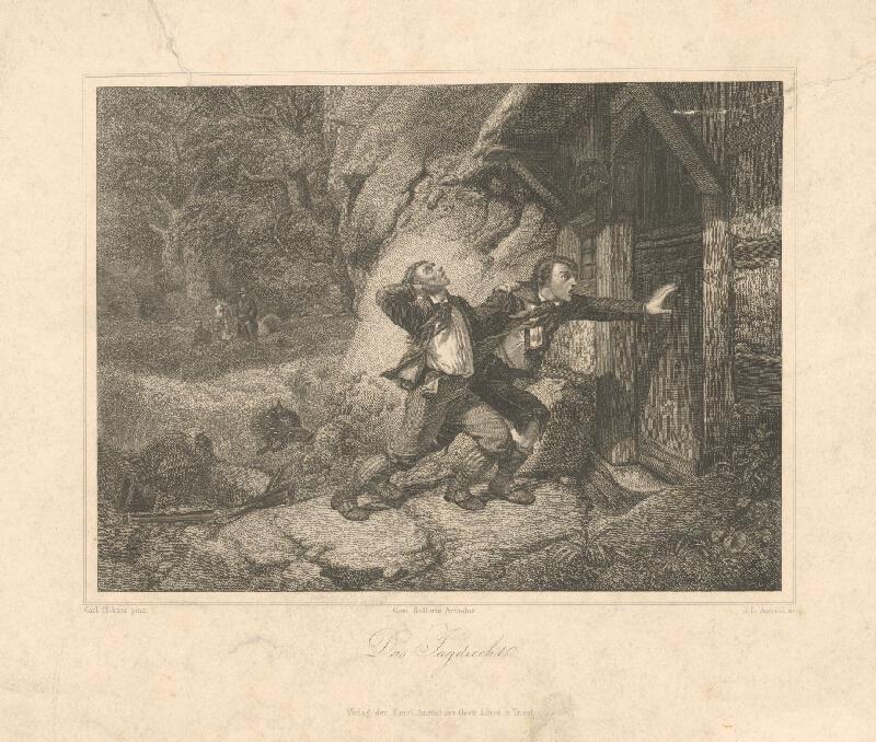 Johann Leonhard Appold, Hübner - Poľovačka