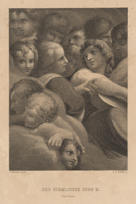 Albert Henry Payne, Antonio Allegri Correggio - Chór anjelov