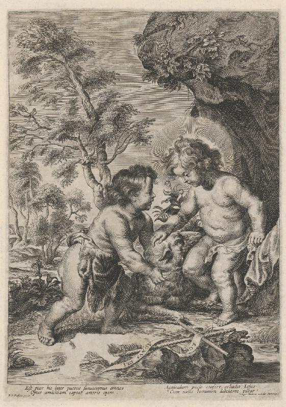 Gaspar Huybrechts, Peter Paul Rubens - Hľa baránok boží
