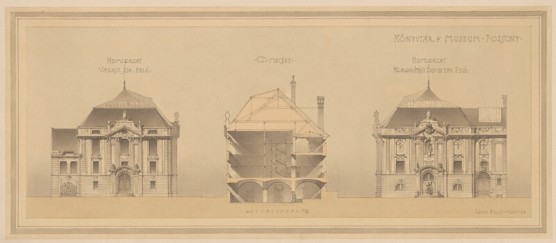 Adolf Alexander Lang - Knižnica a múzeum v Bratislave