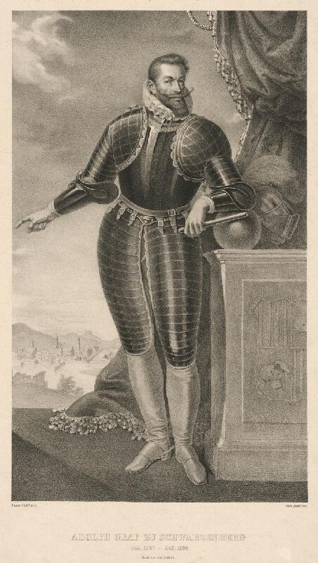 Franz Stohl, Michael Stohl - Portrét grófa Adolfa zo Schwarzenbergu
