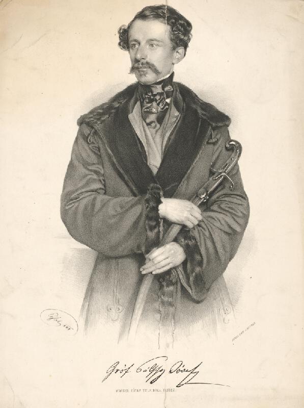 Franz Eybl - Portrét grófa Jozefa Pálffyho
