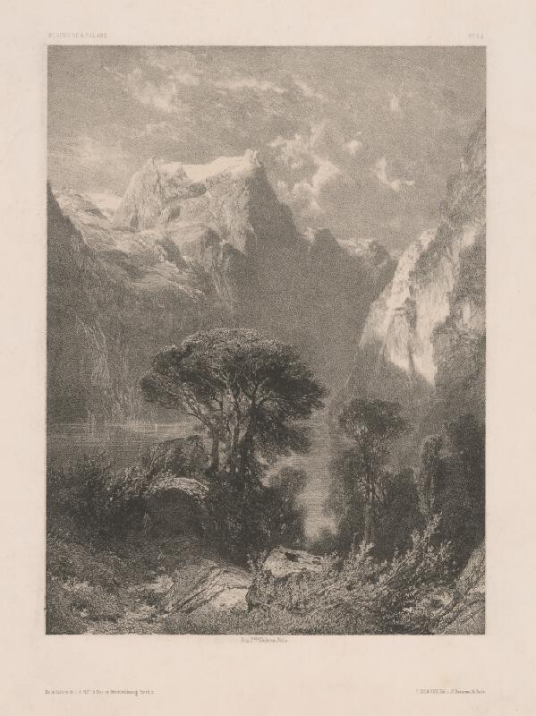 Stredoeurópsky maliar z 19. storočia - Krajinka
