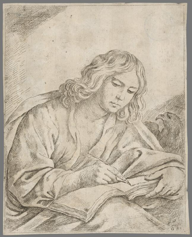Taliansky maliar zo 17. storočia - Svätý Ján Evanjelista