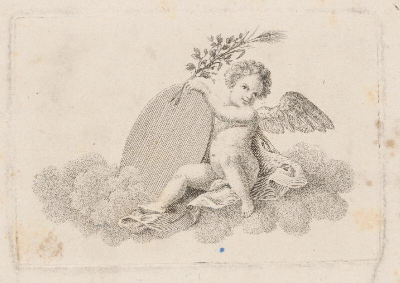 Stredoeurópsky grafik z 18. storočia - Anjel
