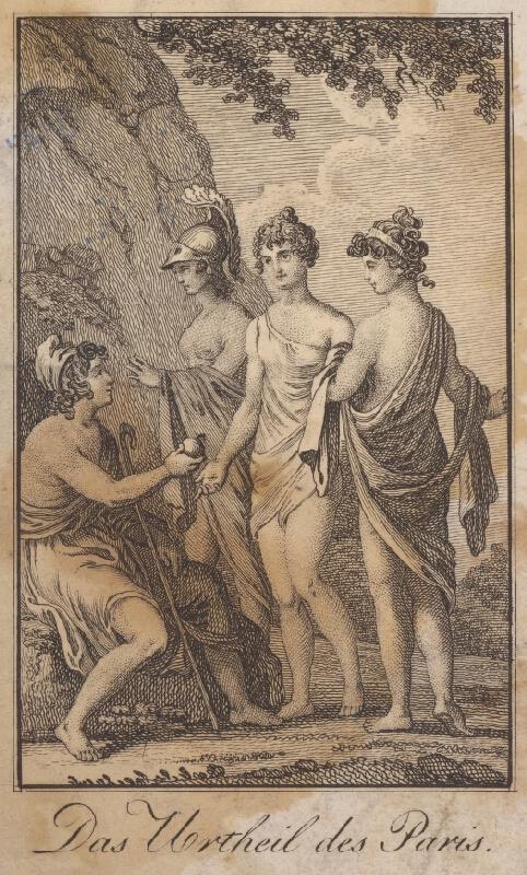 Stredoeurópsky grafik zo začiatku 19. storočia - Rozsudok Parida