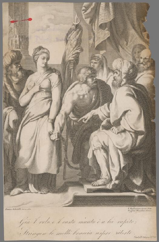 Innocente Migliavacca, Franco Sabatelli – Sofronia pred Aladinom