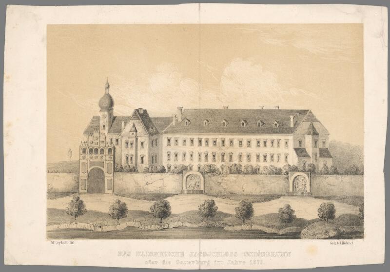 Henrich Gustav Adolf Leybold - Schönbrunn