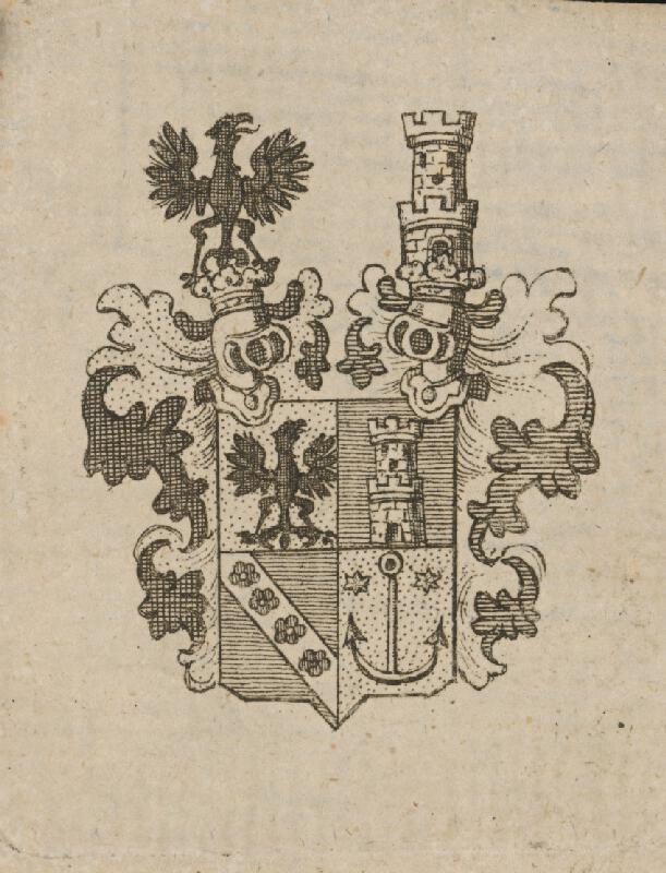 Stredoeurópsky grafik z 18. storočia - Erb