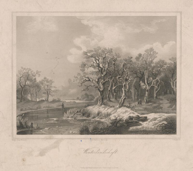 C. Gunkel, Remigius Adrianus Haanen - Zimná krajina