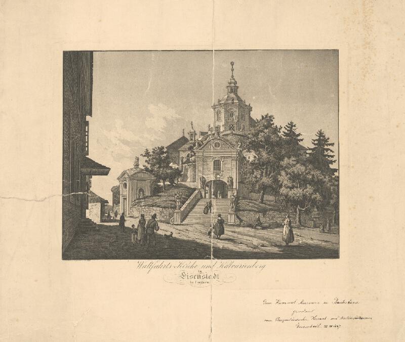 Michael Mayr - Kalvária a pútnický kostol v Eusenstadte